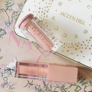 • kkw beauty • ultralight beam pigment rose gold